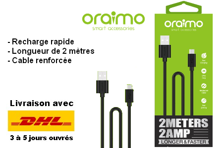Câble(s) charge rapide Micro USB