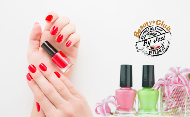 Pose de vernis semi-permanent